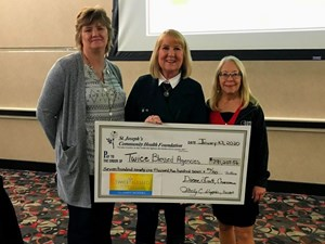 Dakota Boys and Girls Ranch the Recipient of a St. Joseph's Community Health Foundation Twice-Blessed Grant