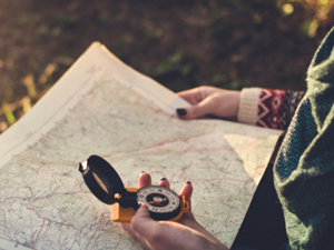 Finding Your Way Without a Map or Compass